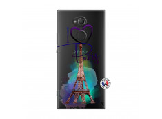 Coque Sony Xperia XA2 Ultra I Love Paris