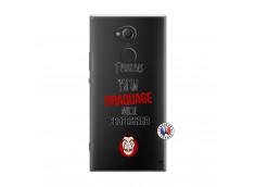 Coque Sony Xperia XA2 Ultra J Peux Pas J Ai Un Braquage Avec Le Professeur