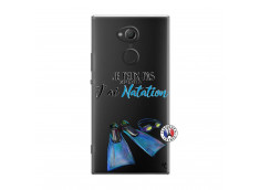 Coque Sony Xperia XA2 Ultra Je Peux Pas J Ai Natation