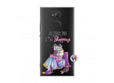 Coque Sony Xperia XA2 Ultra Je Peux Pas J Ai Shopping