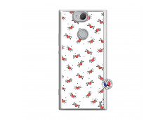 Coque Sony Xperia XA2 Cartoon Heart Translu