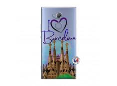 Coque Sony Xperia XA2 I Love Barcelona