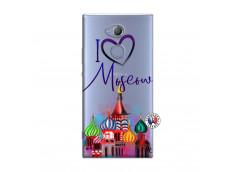 Coque Sony Xperia XA2 I Love Moscow