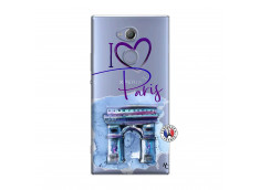Coque Sony Xperia XA2 I Love Paris Arc Triomphe