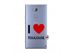 Coque Sony Xperia XA2 I Love Toulouse