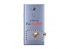 Coque Sony Xperia XA2 Je peux pas j'ai Handball