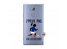 Coque Sony Xperia XA2 Je Peux Pas J Ai Les Bleues