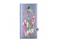 Coque Sony Xperia XA2 Pink Painted Dreamcatcher