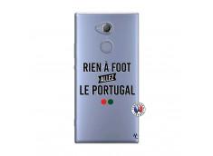 Coque Sony Xperia XA2 Rien A Foot Allez Le Portugal