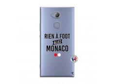 Coque Sony Xperia XA2 Rien A Foot Allez Monaco