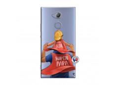 Coque Sony Xperia XA2 Super Papa et Super Bébé