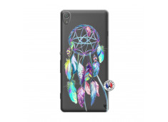 Coque Sony Xperia XA Blue Painted Dreamcatcher