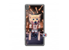 Coque Sony Xperia XA Cat Nasa Translu