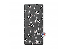 Coque Sony Xperia XA Cow Pattern