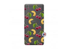 Coque Sony Xperia XA Hey Cherry, j'ai la Banane