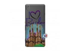 Coque Sony Xperia XA I Love Barcelona