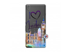 Coque Sony Xperia XA I Love London