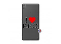 Coque Sony Xperia XA I Love Maman