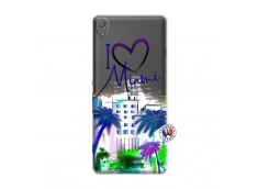 Coque Sony Xperia XA I Love Miami