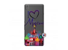 Coque Sony Xperia XA I Love Moscow
