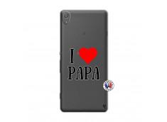 Coque Sony Xperia XA I Love Papa