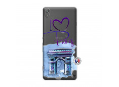 Coque Sony Xperia XA I Love Paris Arc Triomphe