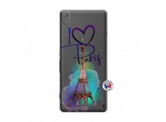 Coque Sony Xperia XA I Love Paris