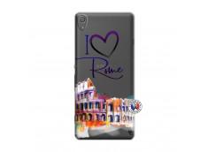 Coque Sony Xperia XA I Love Rome