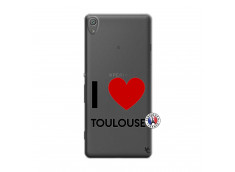 Coque Sony Xperia XA I Love Toulouse