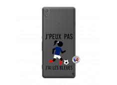 Coque Sony Xperia XA Je Peux Pas J Ai Les Bleues Maillot