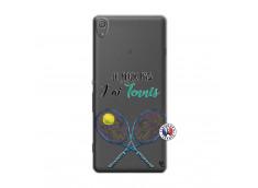 Coque Sony Xperia XA Je Peux Pas J Ai Tennis