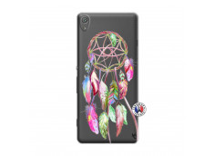 Coque Sony Xperia XA Pink Painted Dreamcatcher