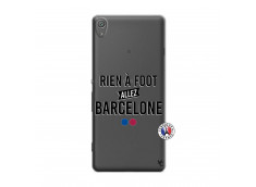 Coque Sony Xperia XA Rien A Foot Allez Barcelone