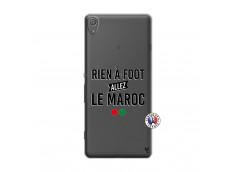 Coque Sony Xperia XA Rien A Foot Allez Le Maroc