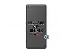 Coque Sony Xperia XA Rien A Foot Allez Rennes
