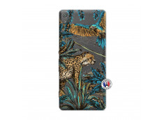 Coque Sony Xperia XA Leopard Jungle