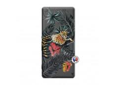 Coque Sony Xperia XA Leopard Tree