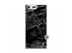 Coque Sony Xperia XZ Premium Black Marble Translu