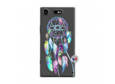 Coque Sony Xperia XZ1 Blue Painted Dreamcatcher