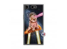 Coque Sony Xperia XZ1 Cat Pizza Translu