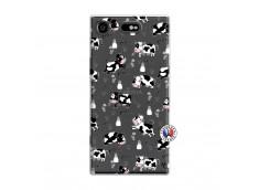 Coque Sony Xperia XZ1 Cow Pattern