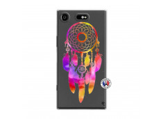 Coque Sony Xperia XZ1 Dreamcatcher Rainbow Feathers