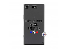 Coque Sony Xperia XZ1 Frappe De Batard Comme Benjamin