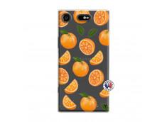 Coque Sony Xperia XZ1 Orange Gina