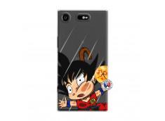 Coque Sony Xperia XZ1 Goku Impact