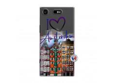 Coque Sony Xperia XZ1 I Love Amsterdam