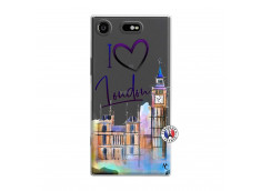 Coque Sony Xperia XZ1 I Love London
