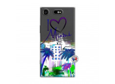 Coque Sony Xperia XZ1 I Love Miami