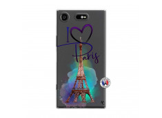 Coque Sony Xperia XZ1 I Love Paris