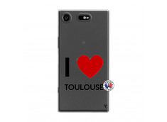 Coque Sony Xperia XZ1 I Love Toulouse